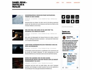 danielrehn.wordpress.com screenshot