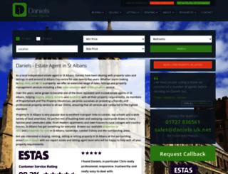 daniels.uk.net screenshot