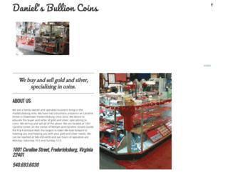 danielsbullioncoins.com screenshot