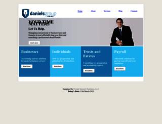 danielsgroupcpa.com screenshot
