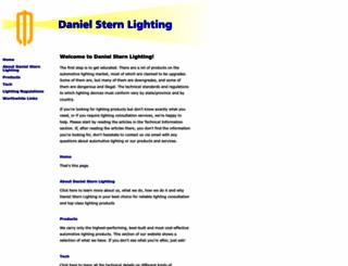 danielsternlighting.com screenshot