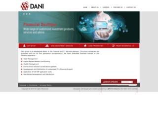 danigroup.in screenshot