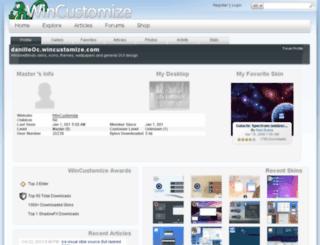 danillooc.wincustomize.com screenshot