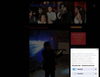 danilomascali.jimdo.com screenshot