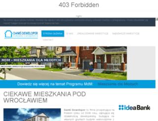 danisdeweloper.pl screenshot