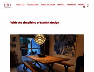 danishloftdesign.com screenshot