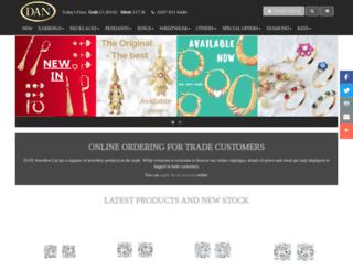 danjewellers.co.uk screenshot