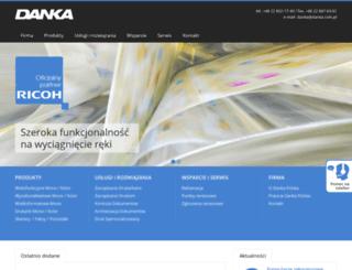 danka.com.pl screenshot