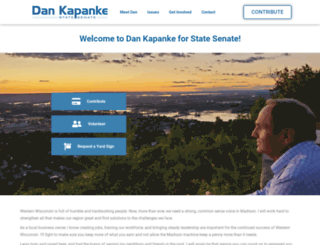 dankapankeforsenate.com screenshot