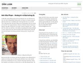 danluan.wordpress.com screenshot