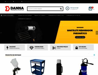 dannaferramentas.com.br screenshot