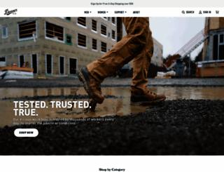danner.com screenshot