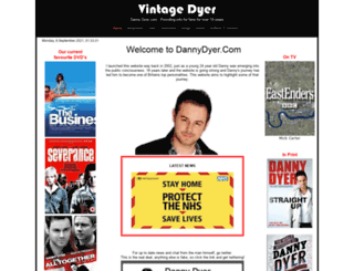 dannydyer.com screenshot
