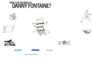 dannyfontaine.co.uk screenshot
