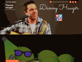 dannyhauger.com screenshot