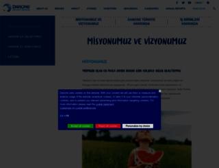 danone.com.tr screenshot