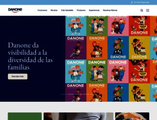 danone.es screenshot