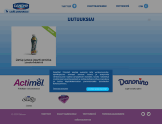 danone.fi screenshot