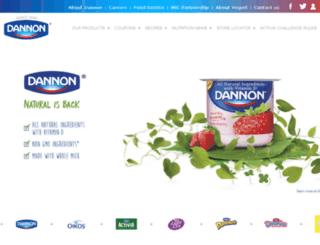 danonino.us.com screenshot