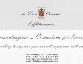 danonnaclementina.com screenshot