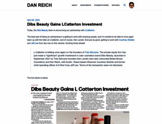 danreich.com screenshot