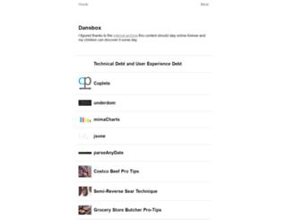 dansbox.com screenshot