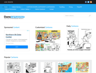 danscartoons.com screenshot