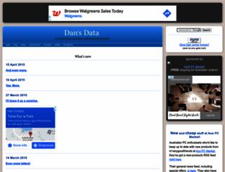 dansdata.com screenshot