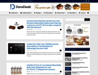 dansdeals.com screenshot