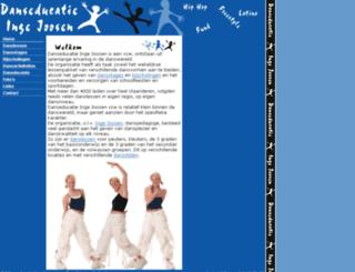 danseducatie.be screenshot