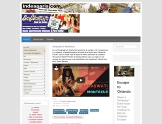 danses-indiennes.com screenshot