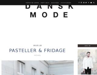 danskmode.com screenshot
