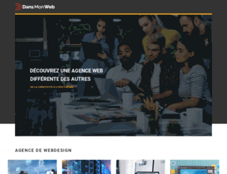 dansmonweb.fr screenshot