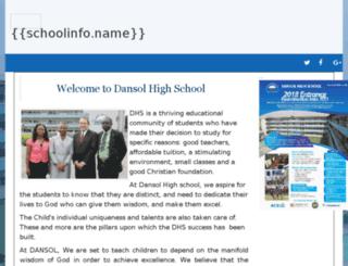 dansolschool.dcmsuite.com screenshot