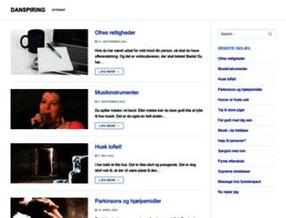 danspiring.dk screenshot