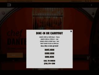 danteboccuzzi.com screenshot