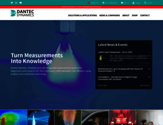 dantecdynamics.com screenshot