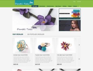 danteltaki.com screenshot