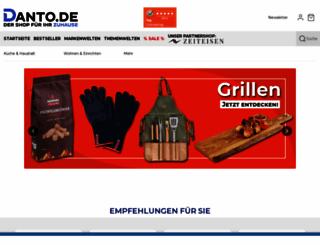 danto.de screenshot
