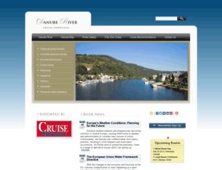 danube-river.com screenshot