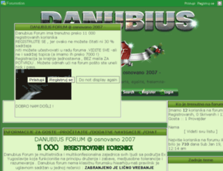 danubius.bestoforum.net screenshot