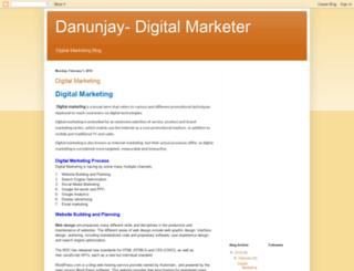 danunjay.blogspot.in screenshot