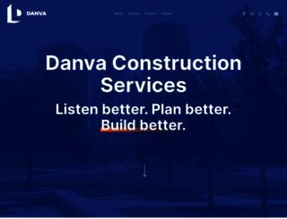 danvaconstruction.com screenshot