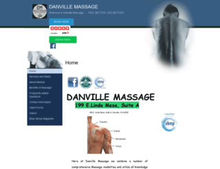 danvillemassage.abmp.com screenshot