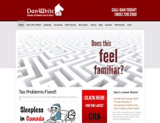 danwhite.ca screenshot