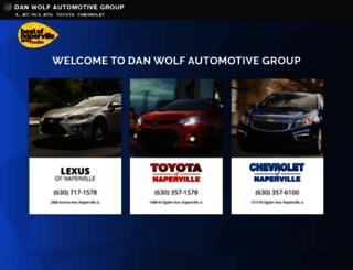 danwolf.com screenshot