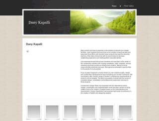 danykapalli.yolasite.com screenshot