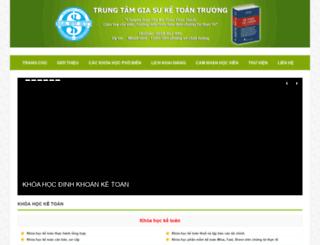 daotaoketoanhcm.com screenshot