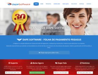 dape.com.br screenshot