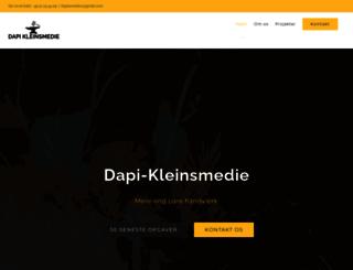 dapi-kleinsmedie.dk screenshot